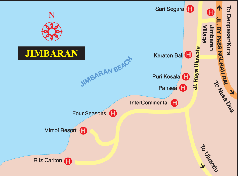 Bali Tourism Board About Bali Bali Map