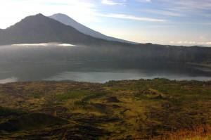 Batur mountain in Bali