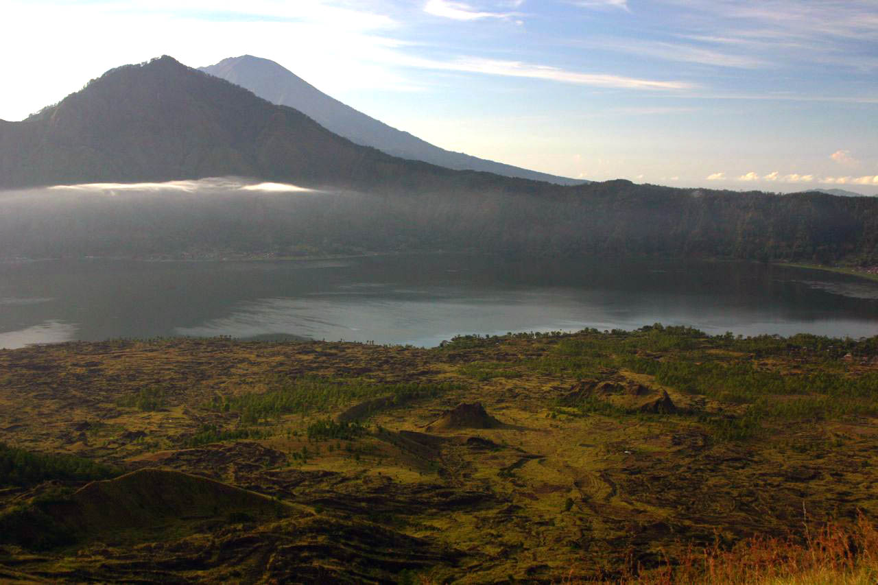 Volcano Bali Batur Batur Mountain in Bali
