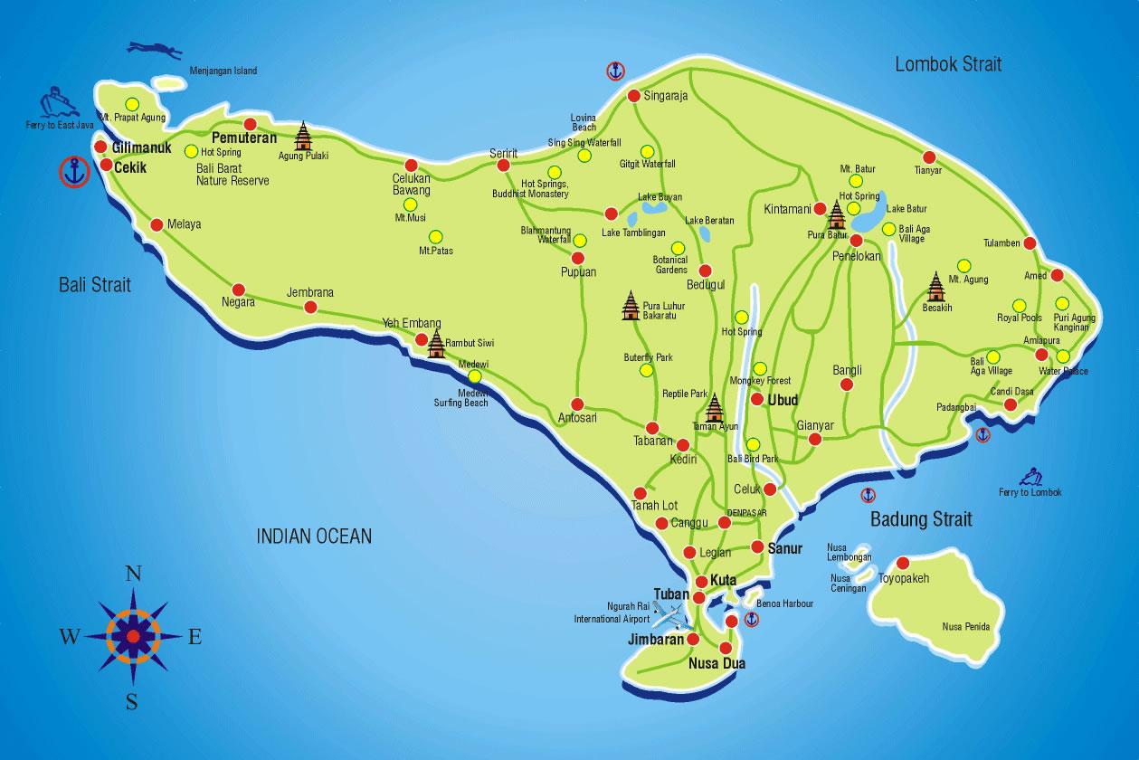 Bali Maps