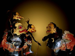 Traditional theater in Bali - Wayang