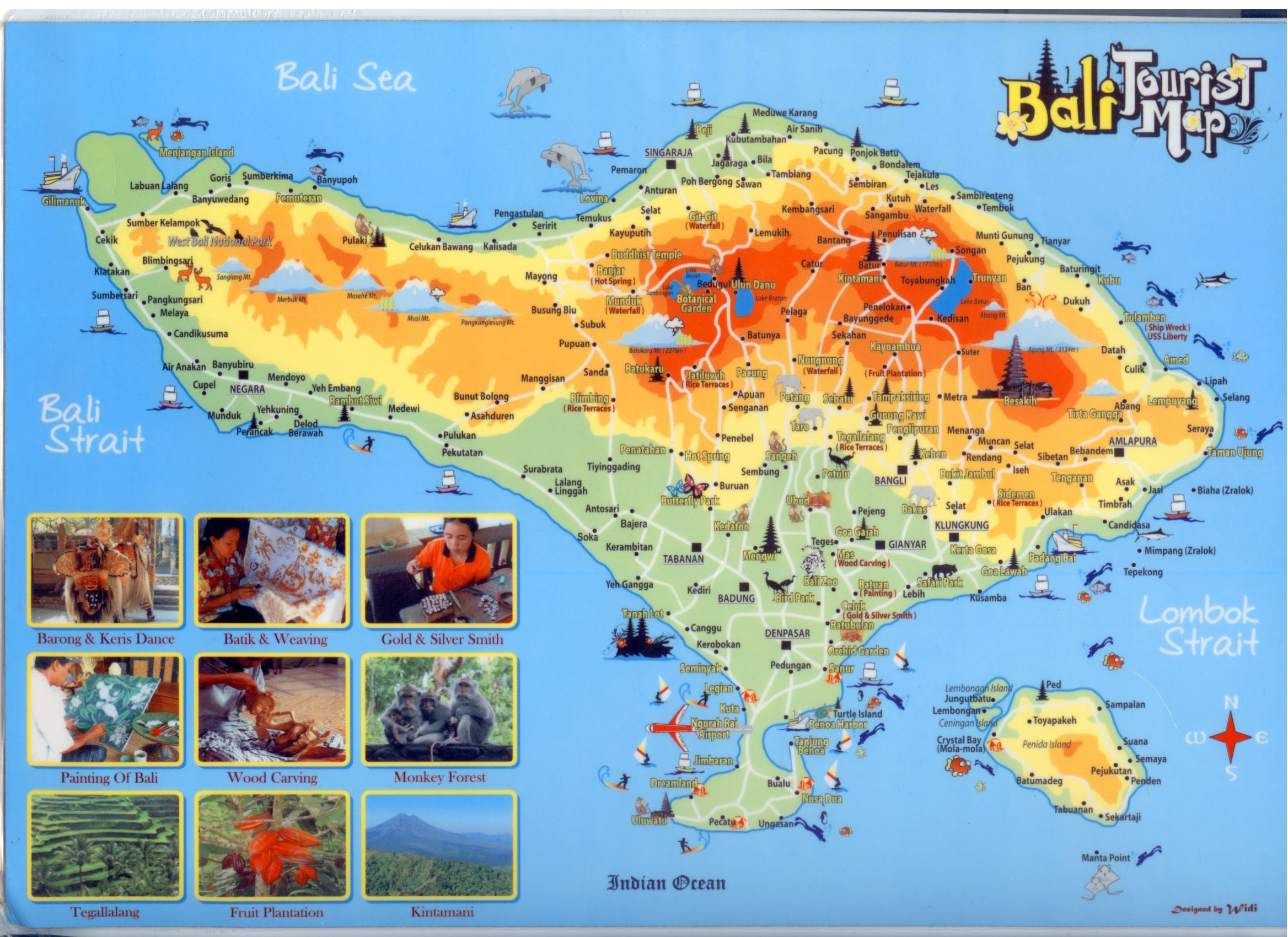 Bali tourism board about bali bali map bali tourist map gumiabroncs Choice Image