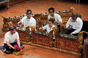 Gamelan - traditional musical instrument from Bali