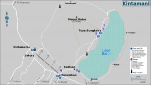 Map of Kintamani