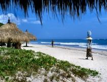 Kuta beach in Bali