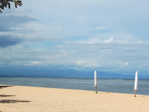 Sanur has been known worldwide literally a century agone Beaches in Bali; Beaches in Denpasar municipality