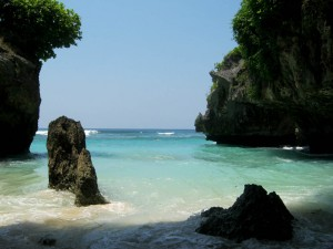 Suluban beach in Bali