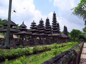 the temple is the solely  temple complex exposing the Balinese traditional edifice structu Beaches in Bali; Taman Ayun Temple
