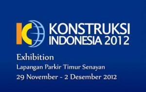 konstruksi indonesia exhibition logo