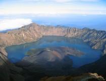 Gunung Rinjani mountain, Lombok
