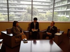 Mari Elka Pangestu, Mr. Shunichi Suzuki, Mr. Masaaki Taira.